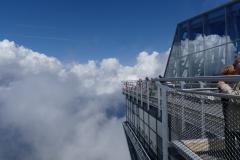 auf der Zugspitze - die neue Plattform
