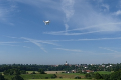 Drohnenflug bei Ebersberg