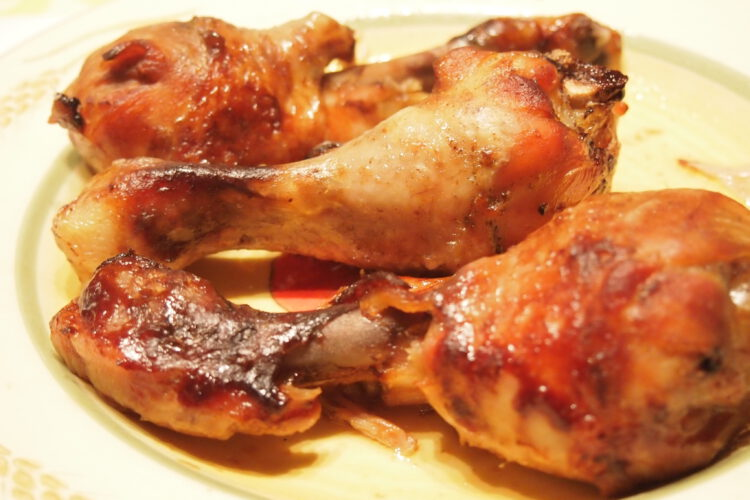 Hähnchenschlegel aus dem Crock Pot