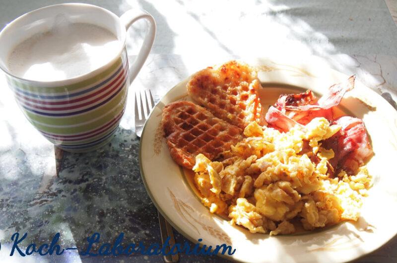 Herzhafter Frühstücksteller