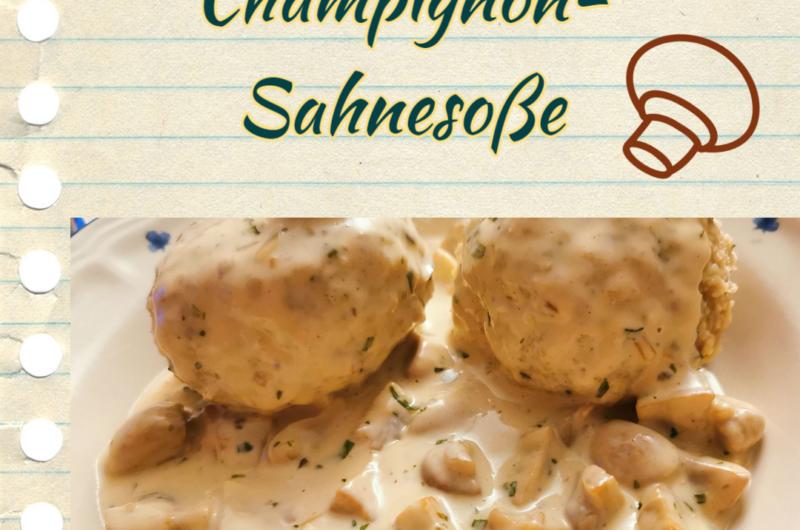 Champignon-Sahnesoße